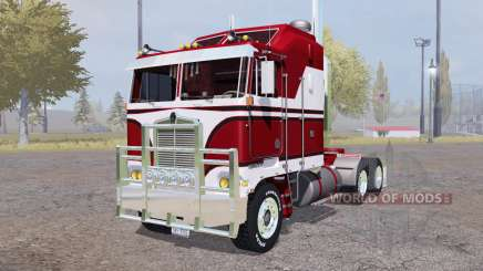 Kenworth K100 red для Farming Simulator 2013