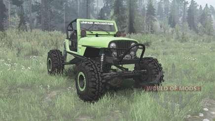 Jeep CJ-7 Renegade 1975 buggy для MudRunner