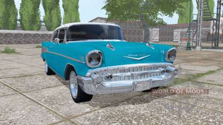 Chevrolet Bel Air (2400) 1957 v1.0.0.2 для Farming Simulator 2017