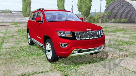 Jeep Grand Cherokee Limited (WK2) 2013 для Farming Simulator 2017
