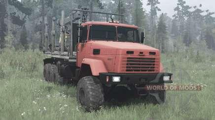КрАЗ-7140Н6 для MudRunner