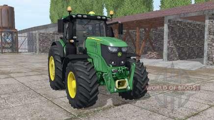 John Deere 6250R v0.9 для Farming Simulator 2017
