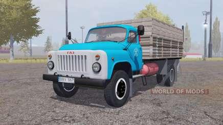 ГАЗ 53 самосвал для Farming Simulator 2013