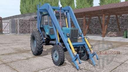 МТЗ 80 Беларус стогомёт v2.1 для Farming Simulator 2017