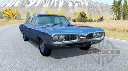 Dodge Coronet sedan (WP41) 1970 v2.2 для BeamNG Drive