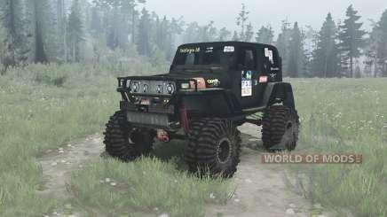 Jeep Wrangler (TJ) Ladoga Trophy v2.0 для MudRunner