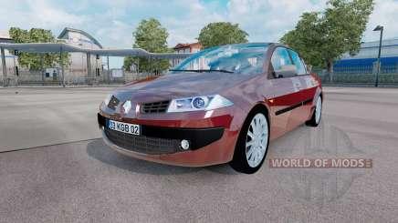 Renault Megane sedan 2006 v1.1 для Euro Truck Simulator 2