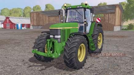 John Deere 7810 animation parts для Farming Simulator 2015