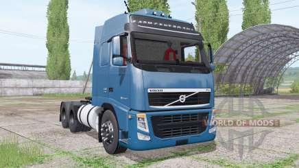Volvo FH 440 6x4 Globetrotter XL cab 2010 для Farming Simulator 2017