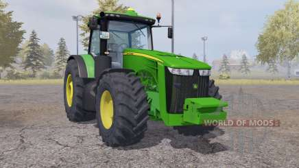 John Deere 8360R weight для Farming Simulator 2013