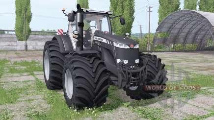 Massey Ferguson 8735 Big Terra Reifen v1.0.2.9 для Farming Simulator 2017