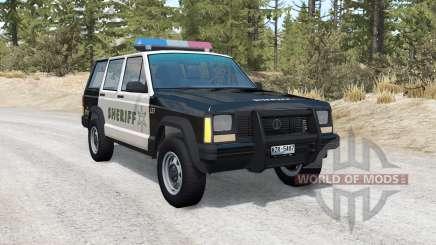 Jeep Cherokee Police skins pack для BeamNG Drive