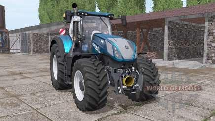 New Holland T7.315 BluePower v2.0 для Farming Simulator 2017