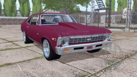 Chevrolet Nova SS 396 1969 v1.0.0.2 для Farming Simulator 2017