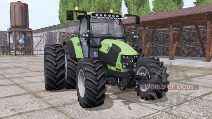 Deutz-Fahr 5130 TTV v2.0 для Farming Simulator 2017