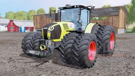 CLAAS Arion 650 twin whеels для Farming Simulator 2015