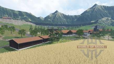 Alpental Forest Extreme v1.4 для Farming Simulator 2015