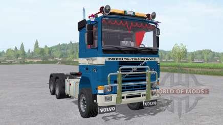 Volvo F12 tractor для Farming Simulator 2017