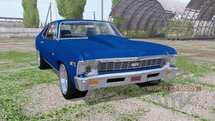Chevrolet Nova SS 396 1969 для Farming Simulator 2017