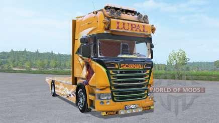 Scania R Topline Lupal v1.0.0.2 для Farming Simulator 2017