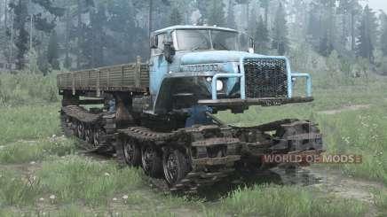 Урал 5920 (ГСБТ) для MudRunner