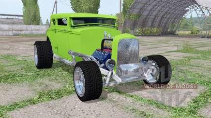 Ford Model B 1932 Hot Rod для Farming Simulator 2017