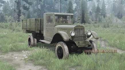 ЗиС 32 1941 для MudRunner