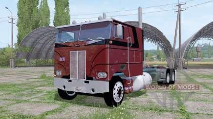 Peterbilt 352 6x6 tractor Cab Over для Farming Simulator 2017