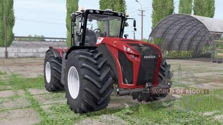 CLAAS Xerion 4500 Trac VC Red Design для Farming Simulator 2017