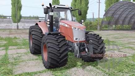 Massey Ferguson 7719 Dyna-6 Terra Tires v3.0 для Farming Simulator 2017