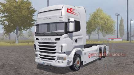 Scania R-series hooklift для Farming Simulator 2013