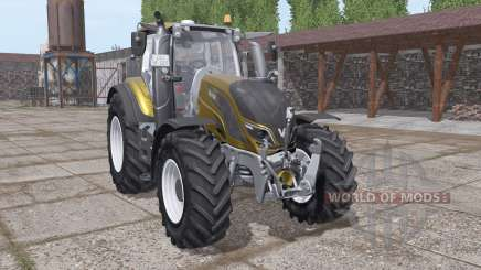 Valtra T194 gold design для Farming Simulator 2017