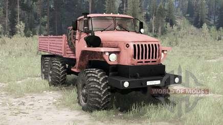 Урал 4320-41 6x6 для MudRunner