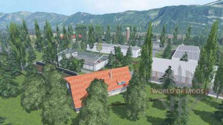 Grazyland multifruit v1.2 для Farming Simulator 2015