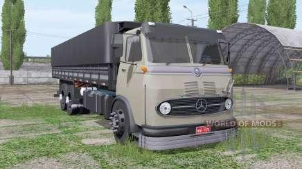 Mercedes-Benz LP 321 3-axle для Farming Simulator 2017