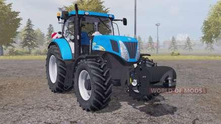 New Holland T7040 weight для Farming Simulator 2013
