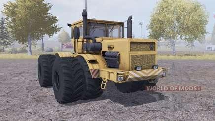 Кировец К 700А сдвоенные колёса для Farming Simulator 2013