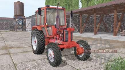МТЗ 82 без капота v1.1 для Farming Simulator 2017
