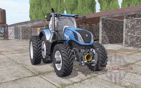 New Holland T7.290 Hеavy Duty для Farming Simulator 2017