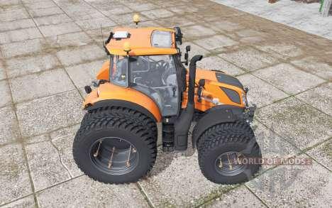 New Holland T5.120 Gamling Edition для Farming Simulator 2017