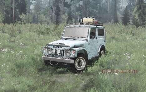 Suzuki LJ80 Hard Top 1978 для Spintires MudRunner
