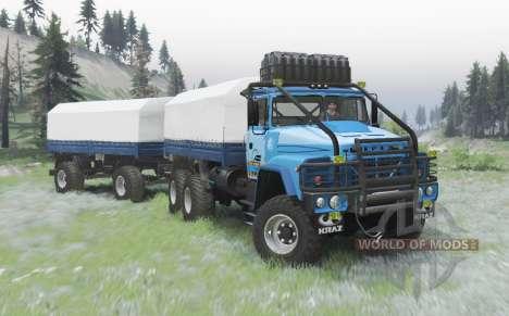КрАЗ 260 v2.1 для Spin Tires