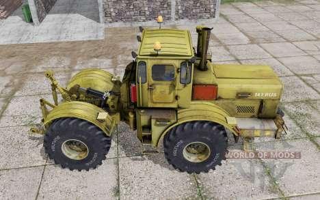 Кировец К-700А динамические шланги v2.0 для Farming Simulator 2017