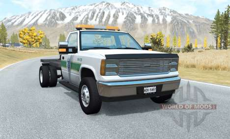 Gavril D-Series flatbed для BeamNG Drive