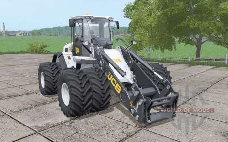 JCB 435S double wheels v1.0.0.1 для Farming Simulator 2017