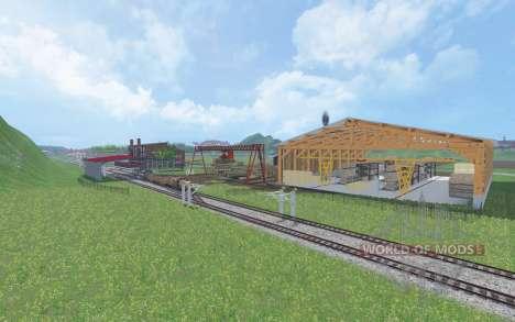 Auvergne для Farming Simulator 2015