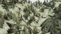 Изогнутая горная дорога