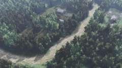Дорога на Белое озеро для Spin Tires