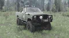 Ford F-150 Ranger 1982 lifted для MudRunner
