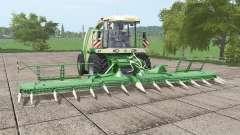 Krone BiG X 1100 bunker v1.1 для Farming Simulator 2017